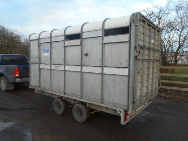 Secondhand livestock trailer