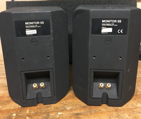 RCF mointors system