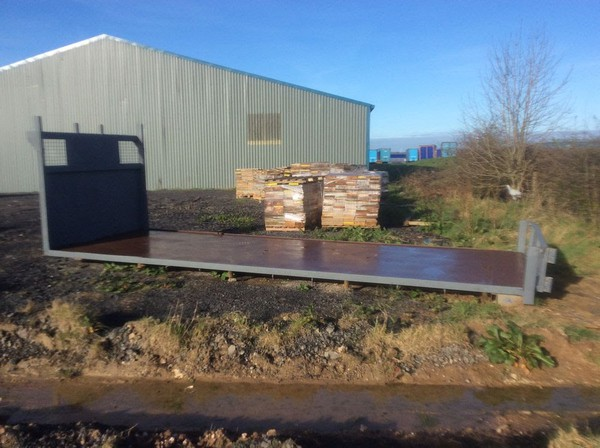 Used Flatbed trailer body for sale