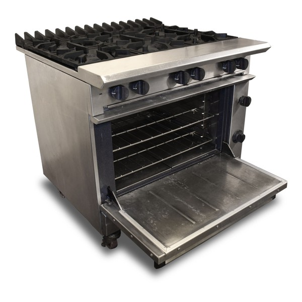 Secondhand gas oven