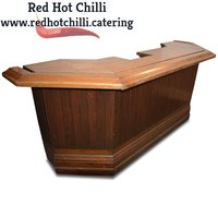 Solid Wood Bar Unit