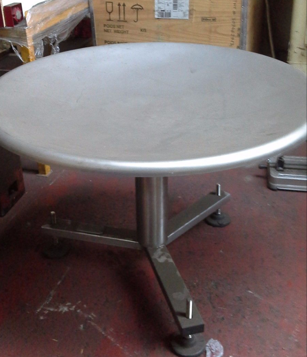 Dished turntable for sale