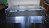 Meat display counter