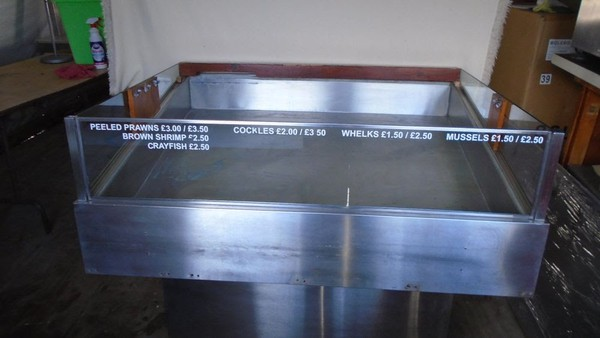 Refrigerated meat display for sale