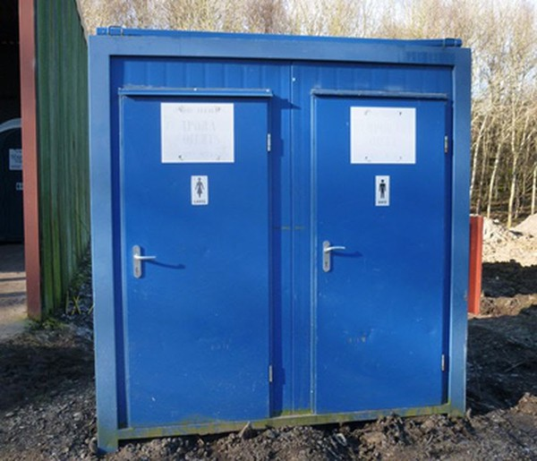 Toilet trailer for sale