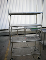 Steel rack shelves