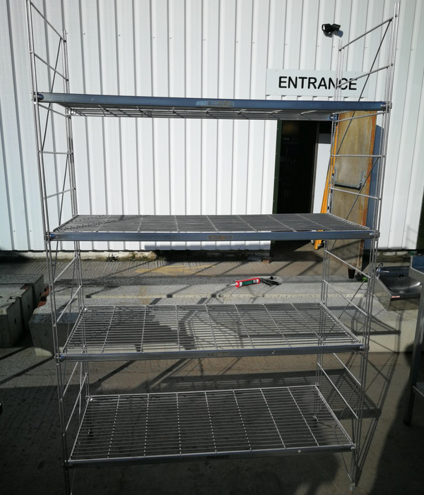 Stainless steel rack shelves