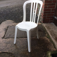 White bistro chairs for sale