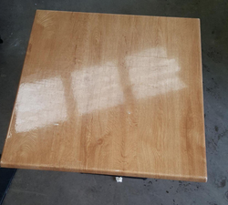 Square table tops