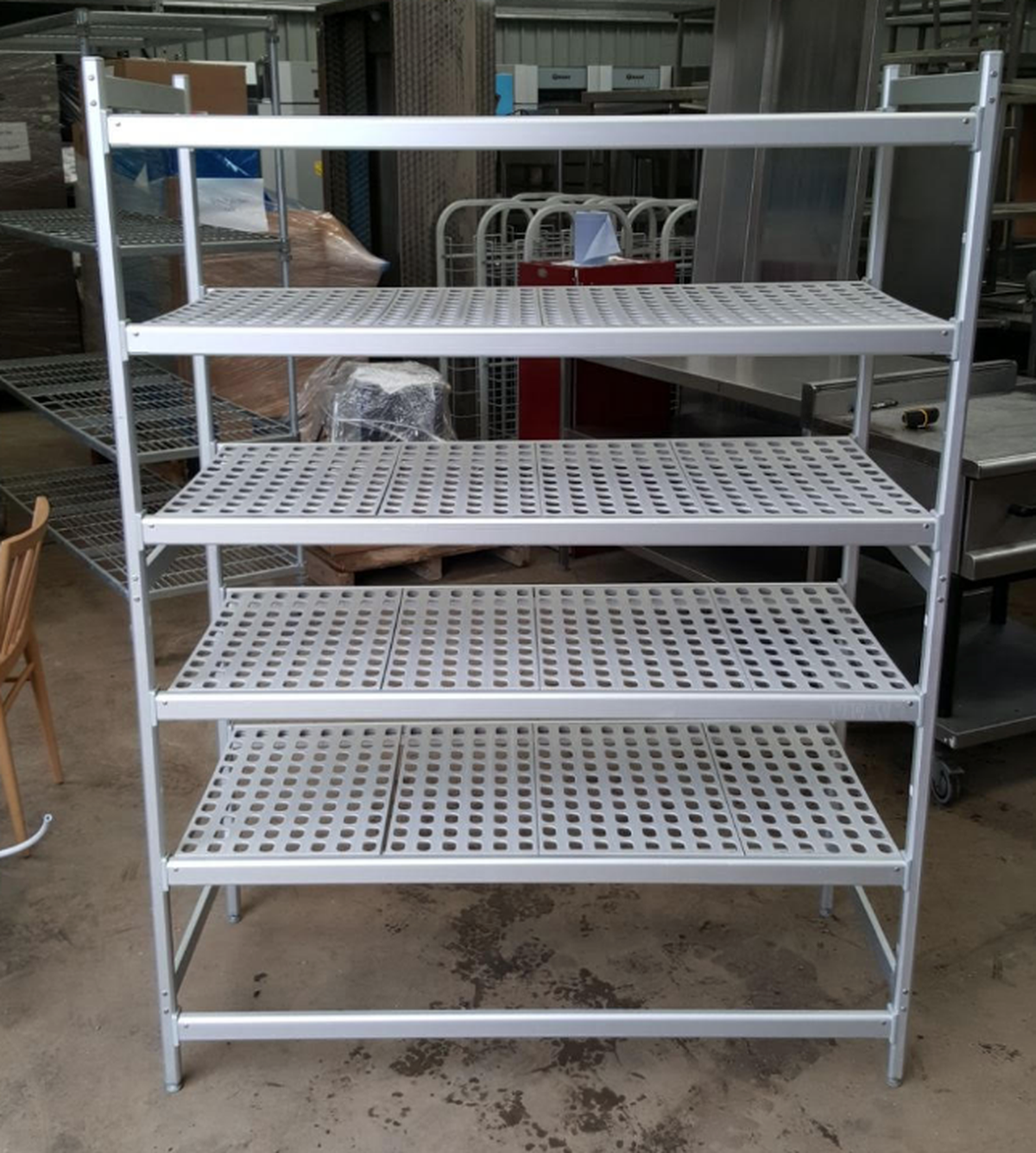 Cold room shelving ... & Secondhand Catering Equipment | Shelves and Storage Racks | Cold ...