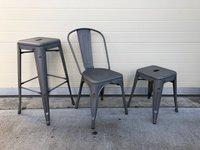 Matt welded stools