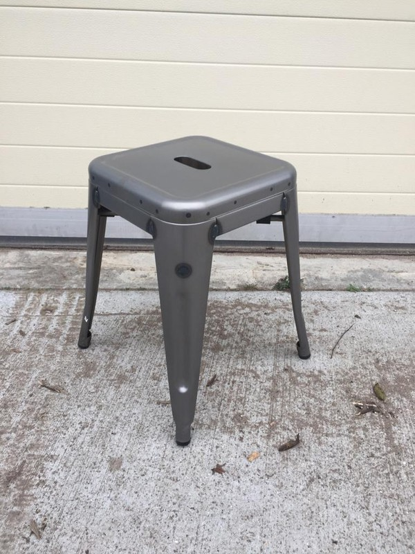 Tolix low stool