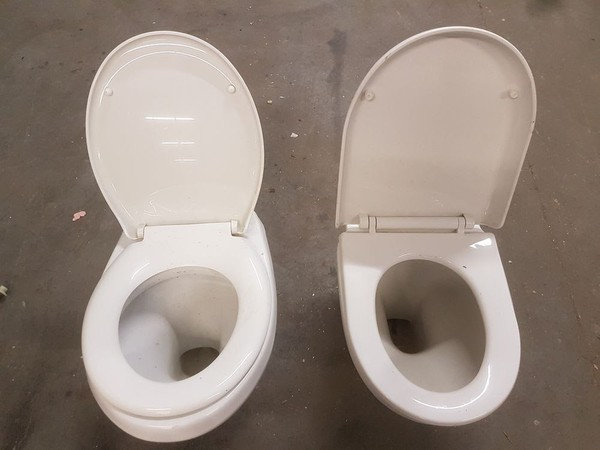 Job lot toilets