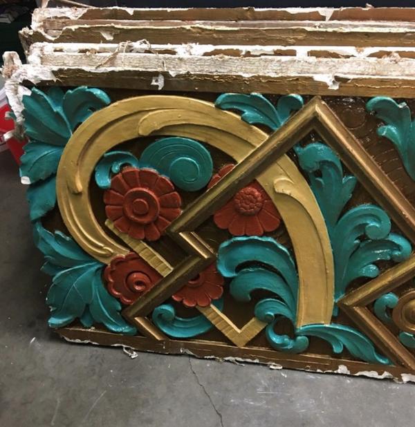 Art deco panel