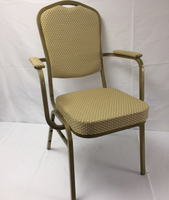 Steel framed banqueting chair