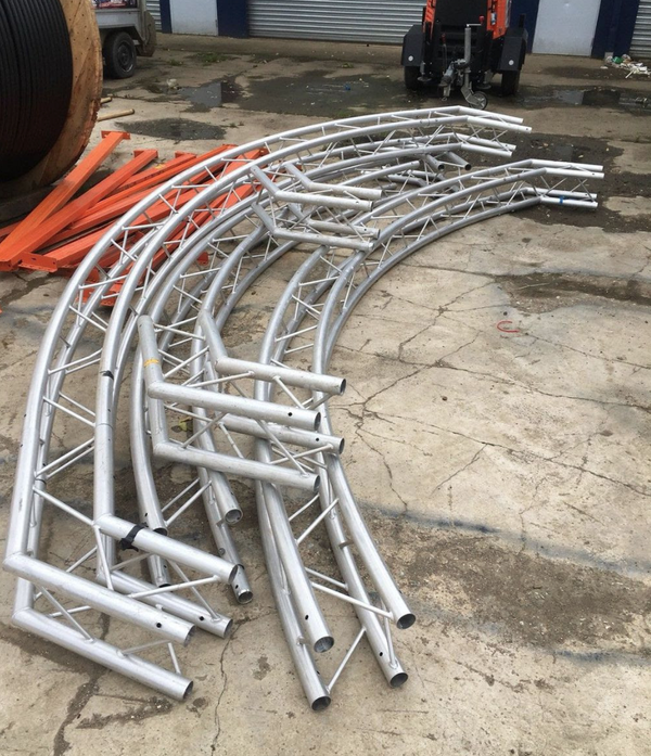 Secondhand truss system