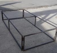 Folding stage bases