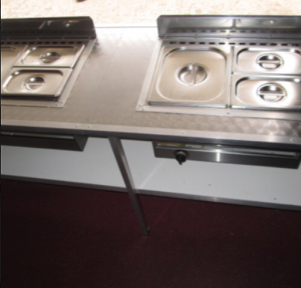 A & R catering trailer for sale