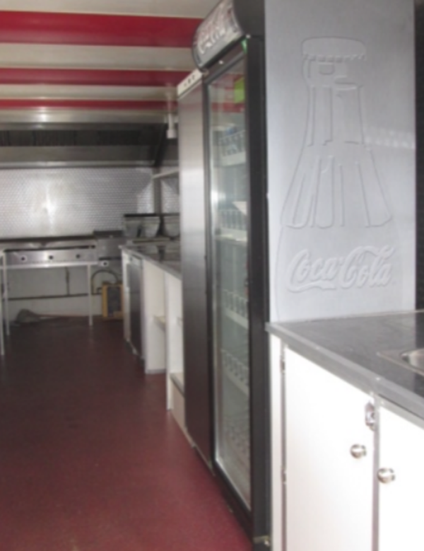 Buy Used mobile kitchen