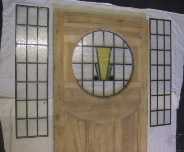 1930s Edwardian Exterior Door