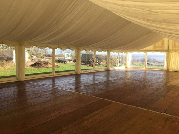 White pvc marquee for sale
