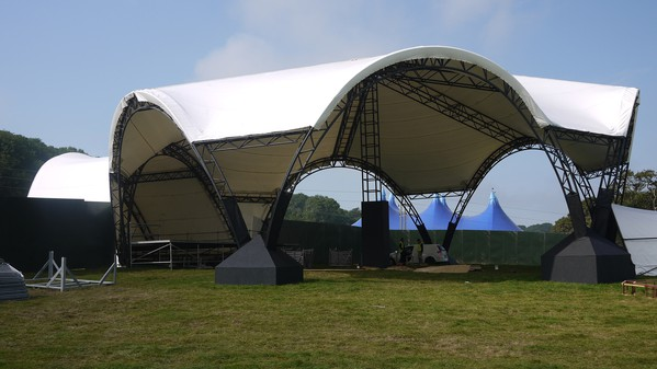 Large stage roof