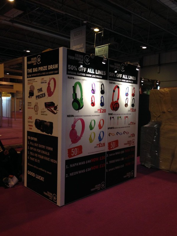 Large exhibition stand for sale