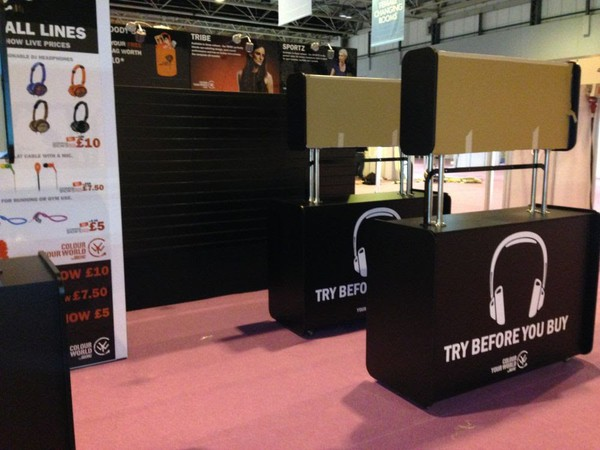 Used exhibition stand