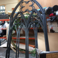 Gothic window frame