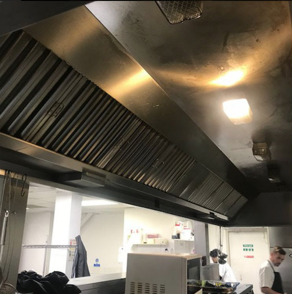 Nice Commercial Kitchen Extraction Canopy   Ladbroke Grove, London