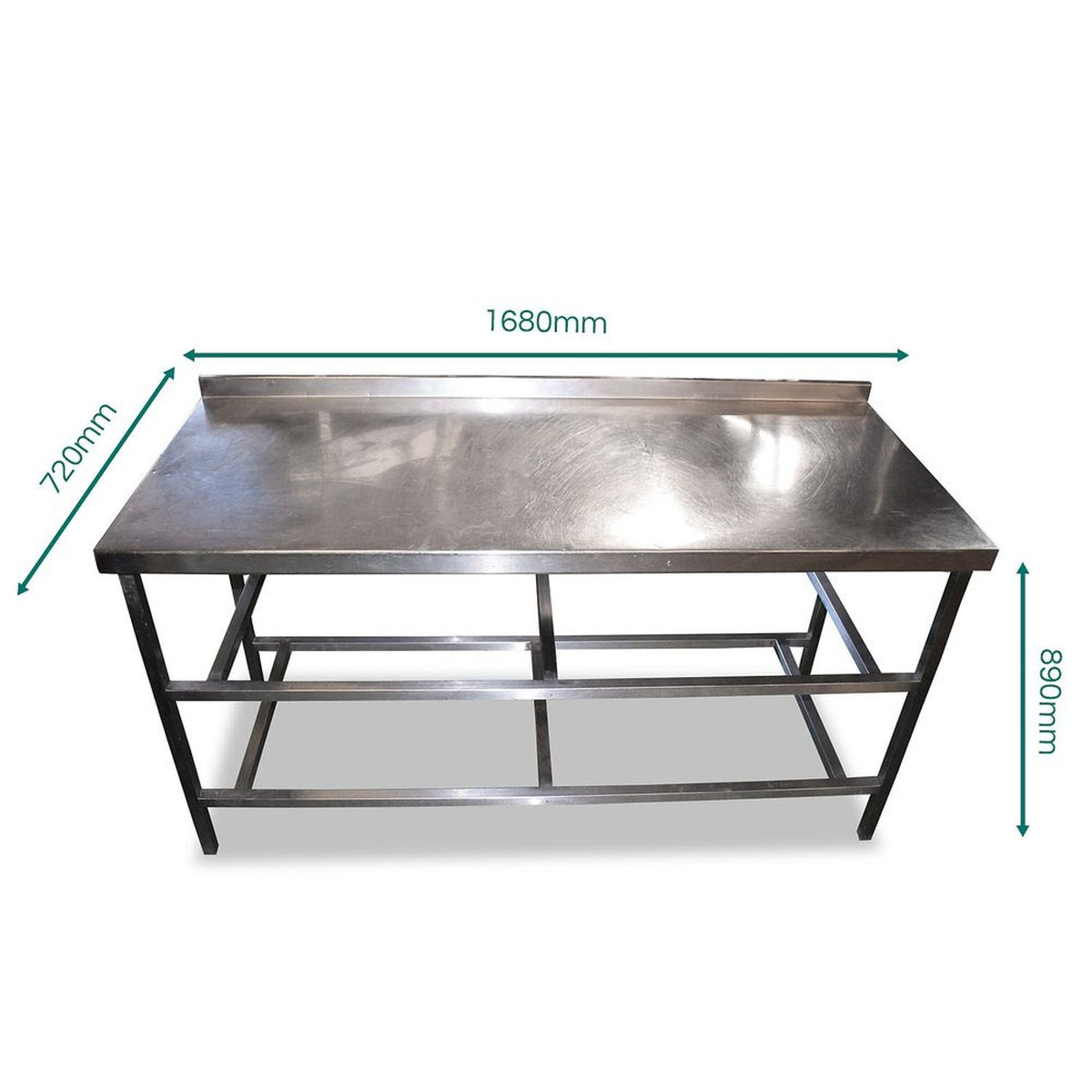 1.6m Stainless Steel Table (SS324)