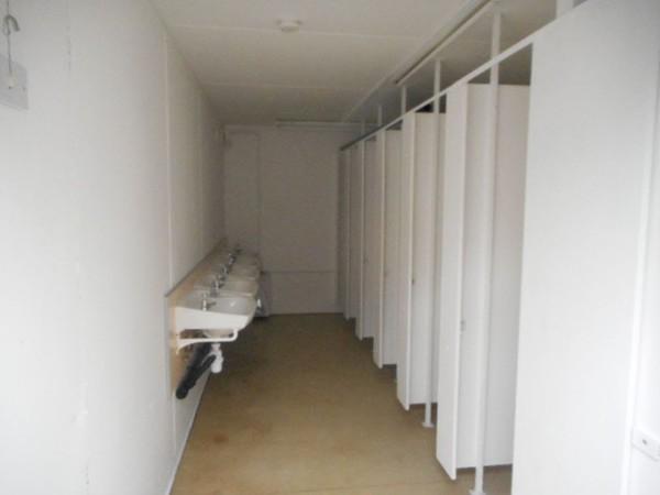 Portable toilet unit