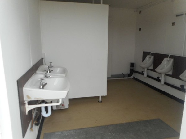 Used toilet cabin for sale