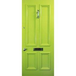 Lime green door for sale