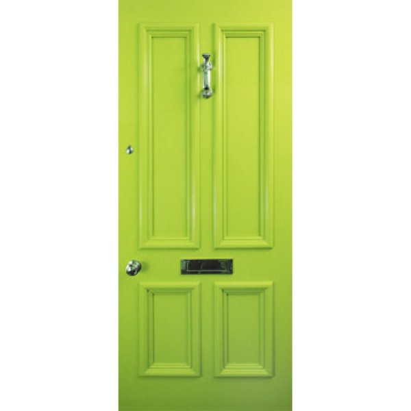 Lime green door for sale