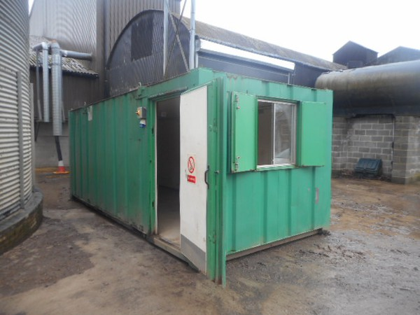 Used 21x9 anti vandal site office