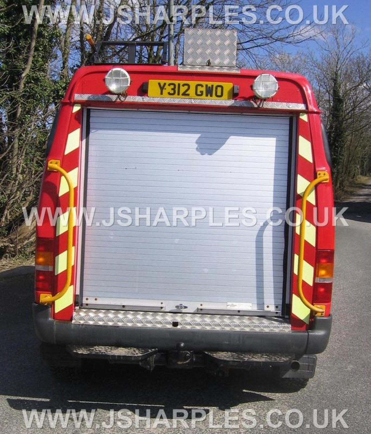 Swiss Vans Large Uk Ford: Ford Transit 4x4 Van County Direct Fire Service