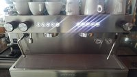 2 group coffee machine for sale