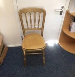 Gold banqueting chairs for sale