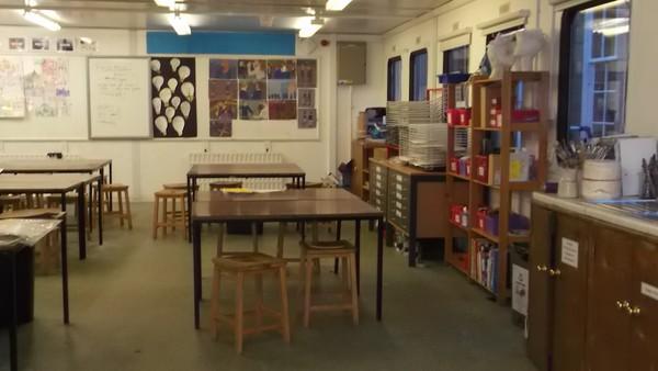 School classroom Portakabin