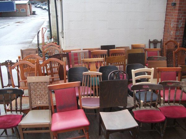 Job Lot of 43x Mixed Chairs (Code MIX 3)