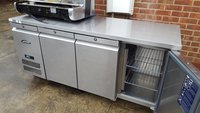 Williams 3 Door Bench / Preparation Fridge Model HJC3-SA
