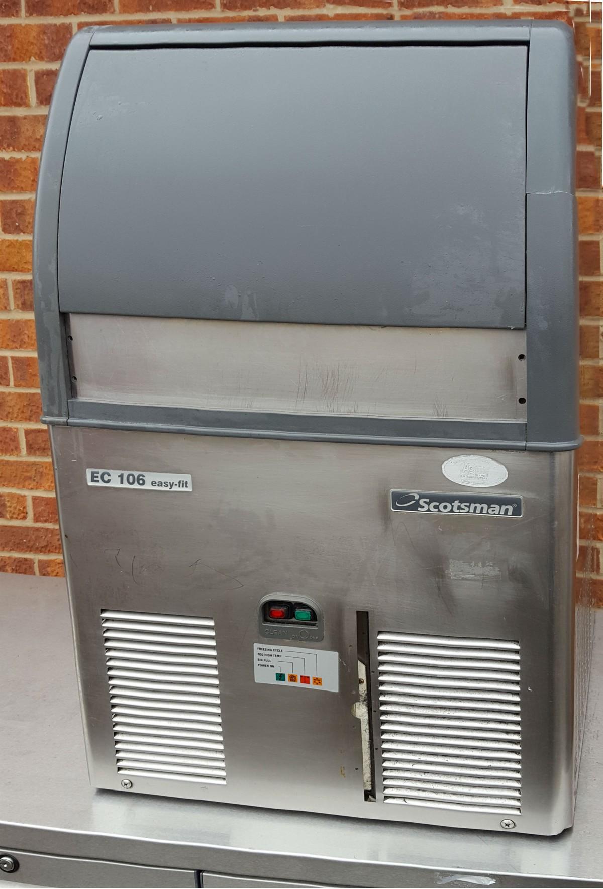 Secondhand Pub Equipment Ice Machines Scotsman Ice