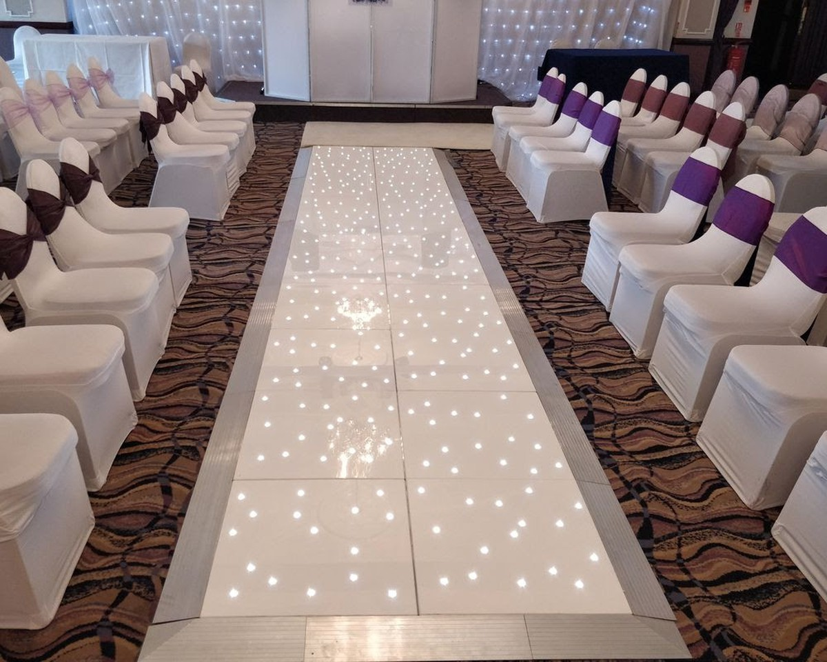 Curlew Secondhand Marquees Dance Floor 20x20ft