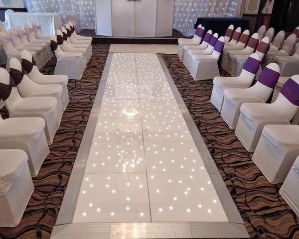 White LED starlight Cat walk