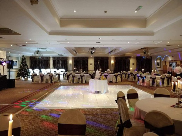 Dance floor hire for weddings in Hotels