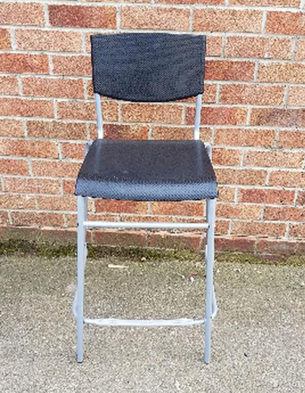 Metal framed stools