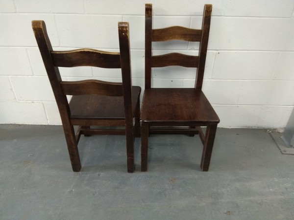 Buy dark oak chairs