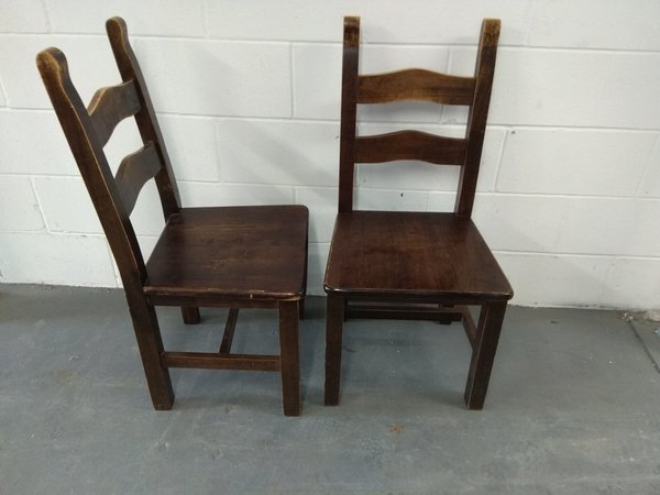 Hardwood chairs for sale