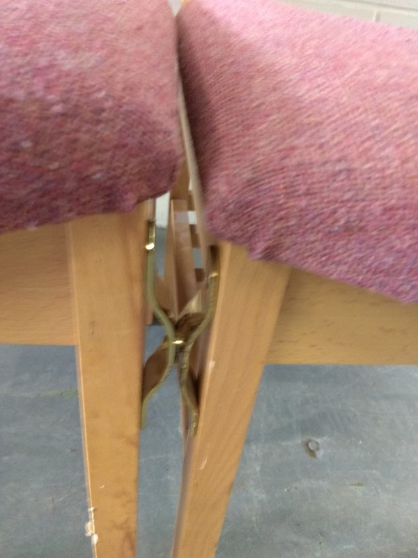 Linking chairs for sale